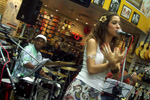 Pocket Show na 'Queop´s Music'- Shopping Grand Plaza - Divulgação CD Samba-Fusão (Santo André/SP-abril 2010)